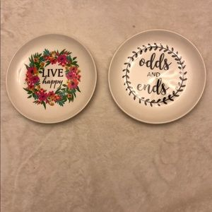 (2) Home Collection Trinket Tray-Offer/Bundle Save